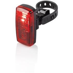 XLC Capella CL-S20 Lygtesæt, sort/rød